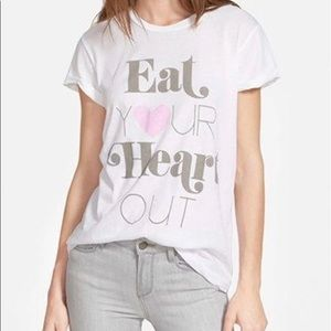 WILDFOX 🌿 Eat Your Heart Out tshirt medium
